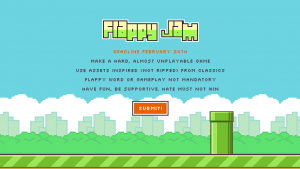 Play two free Flappy Bird tributes from Canabalt and Super Hexagon creators