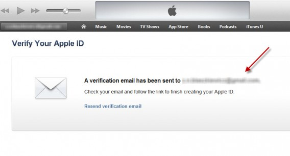 Verify your Apple ID via email