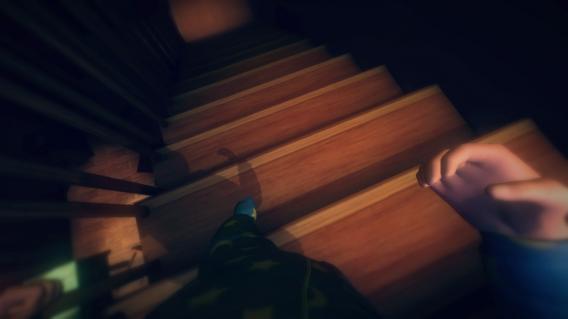 Among the Sleep stairs