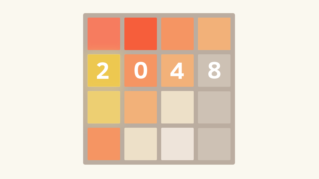 2048: how to win 50