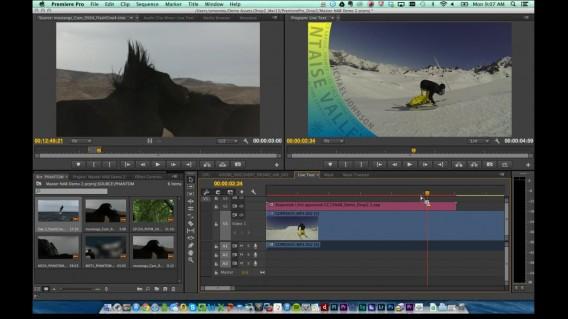 Adobe Premiere Pro CC Master Clips