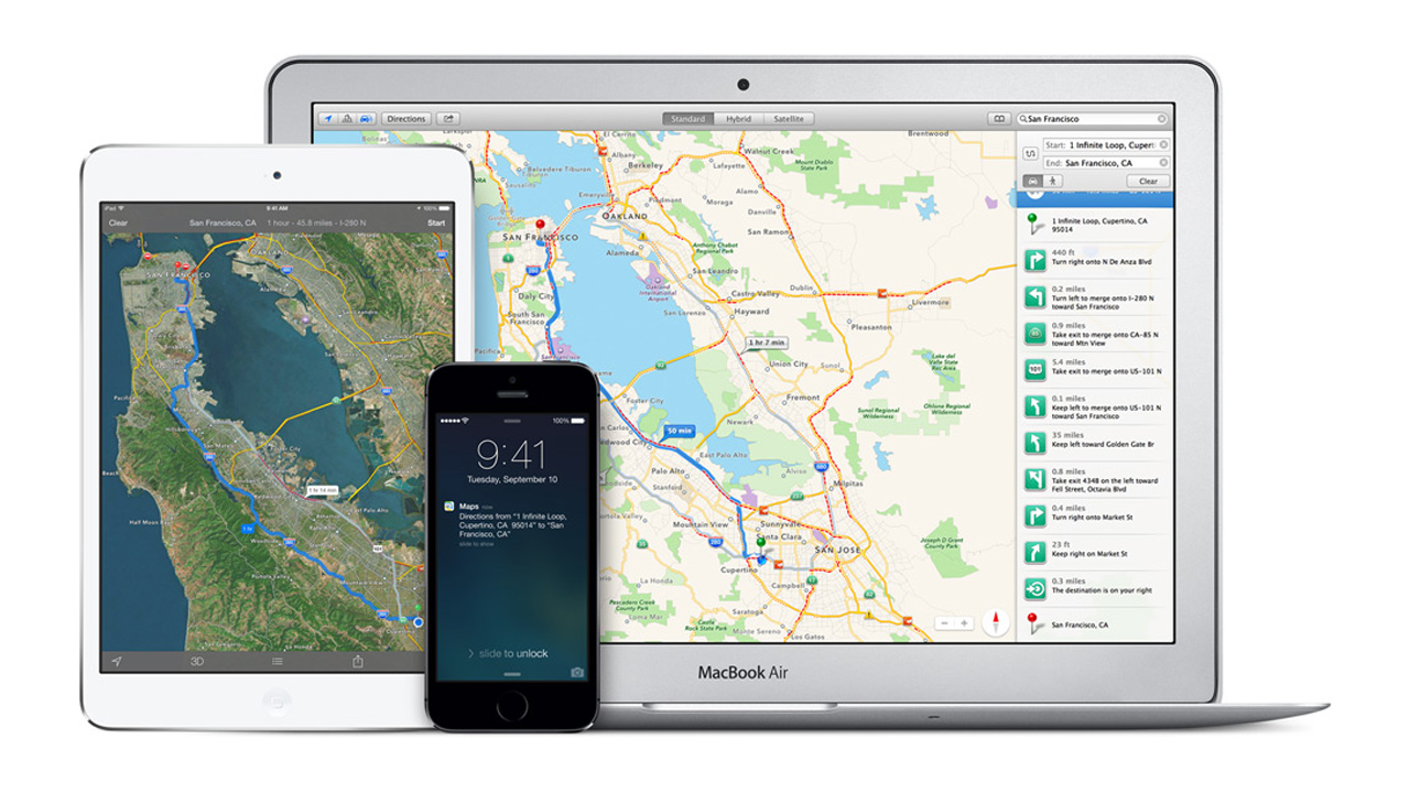 iOS 8 to feature major Apple Maps improvements
