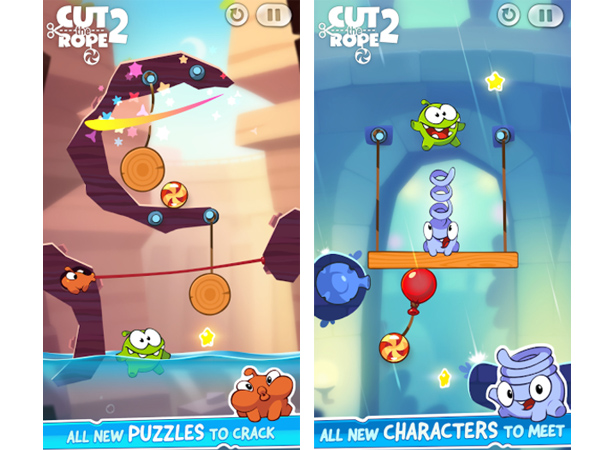 Cut the Rope 2 for Android