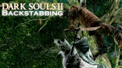 Avoid attacks from behind in Dark Souls II