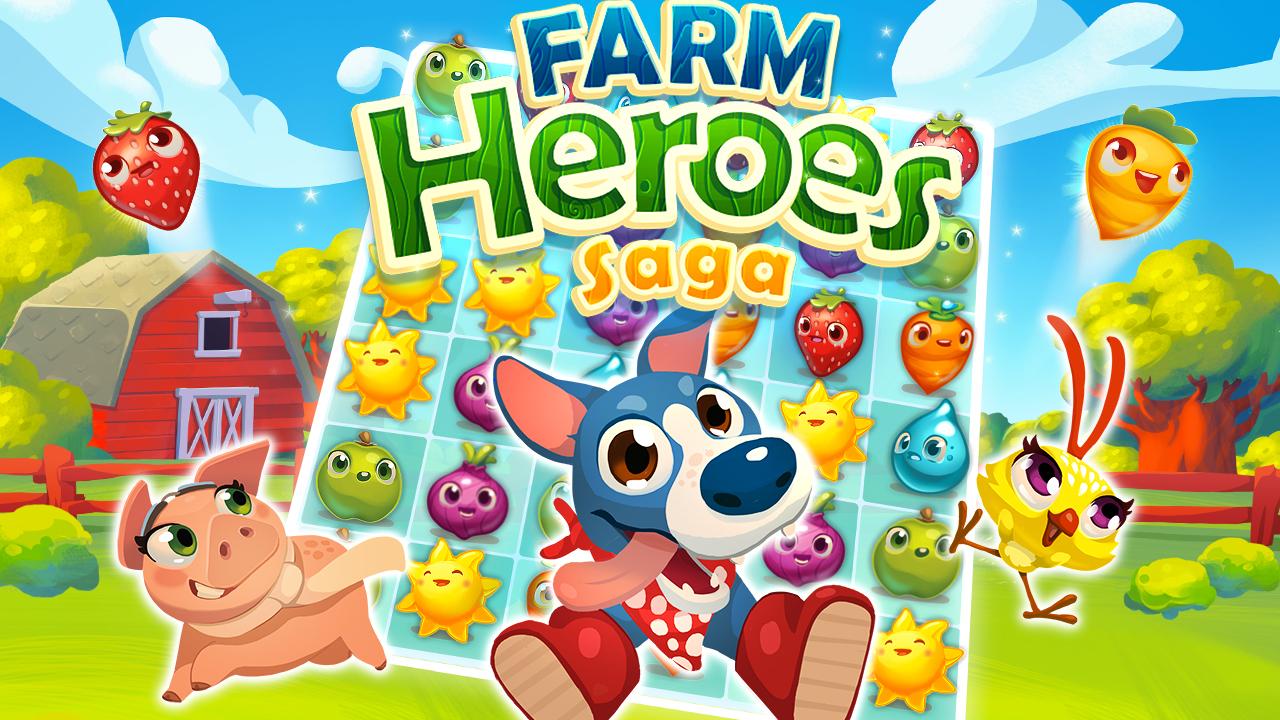 نتيجة بحث الصور عن Farm Heroes Saga