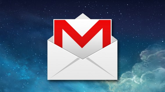 Gmail for iOS header