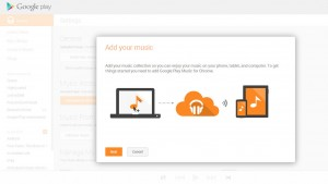 Google Play Music now lets you upload songs in Chrome