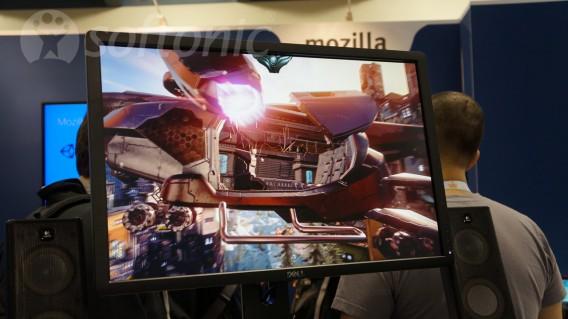 Mozilla web gaming demo header