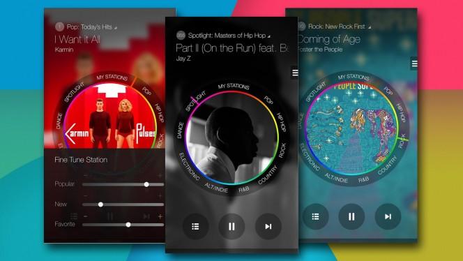 Samsung Milk Music header