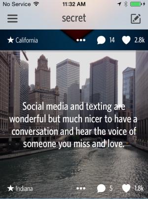 Secret feed