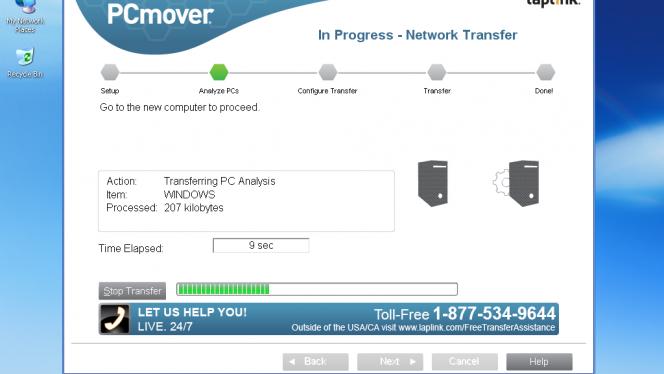 Windows XP PCmover Express