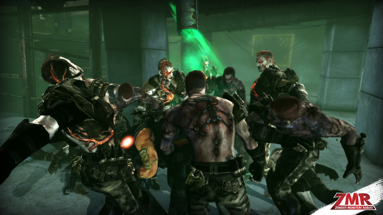 Zombies Monsters Robots is as ridiculous as it sounds