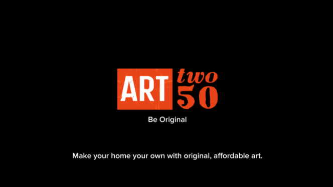 ARTtwo50 on iPad: bridging the gap between you and the artist