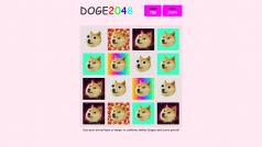 Play Doge 2048