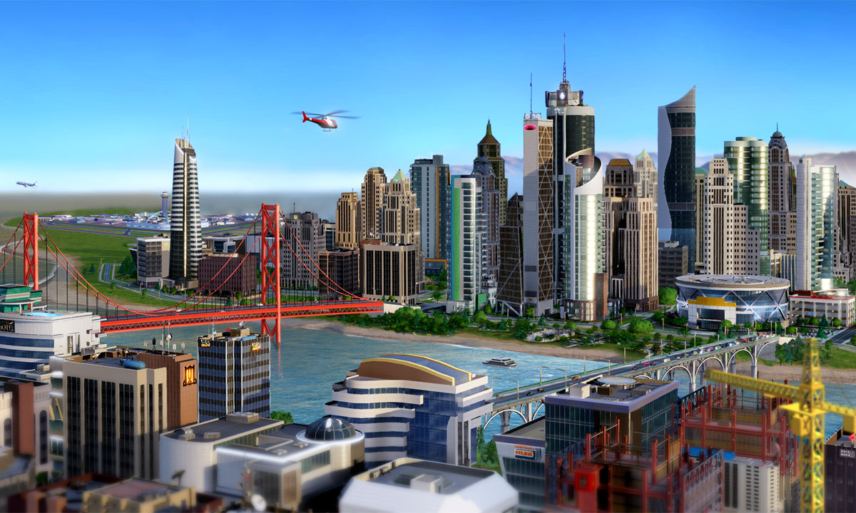 Real estate developer tried to pass off SimCity screenshots as a real project