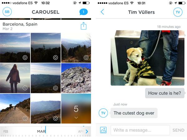 Carousel App