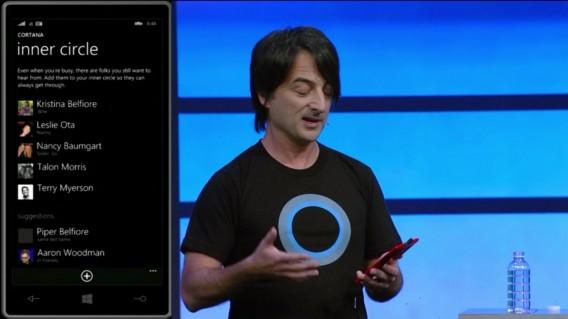Cortana inner circle