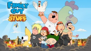 Rebuild Qauhog in Family Guy: The Quest for Stuff