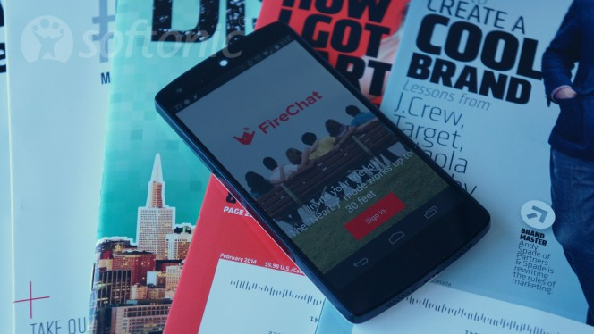 FireChat Android header