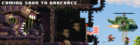 Banner do Broforce