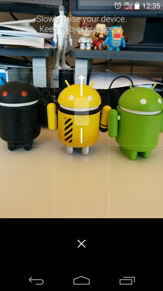 Google Camera 2.1 Lens Blur