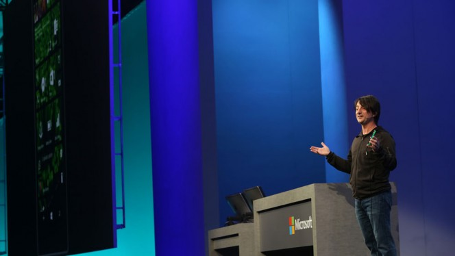 Microsoft BUILD 2014 header