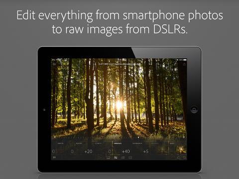 Lightroom for iPad RAW