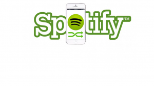 What can you do with a free Spotify account on an iPhone?