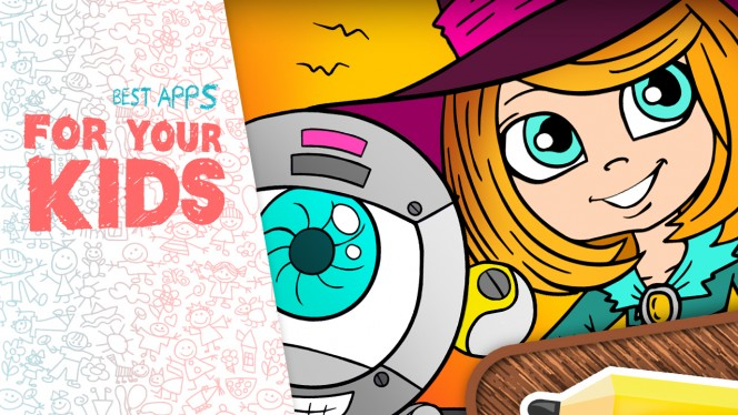 iPad apps for your kids: understanding routine, coloring and making stories