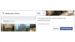 Annoy your Facebook friends by asking about their relationship status