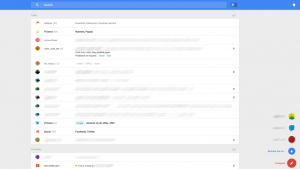 Google experiments with dramatic Gmail redesign on the web