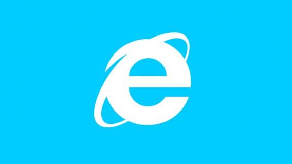 Internet Explorer centered header