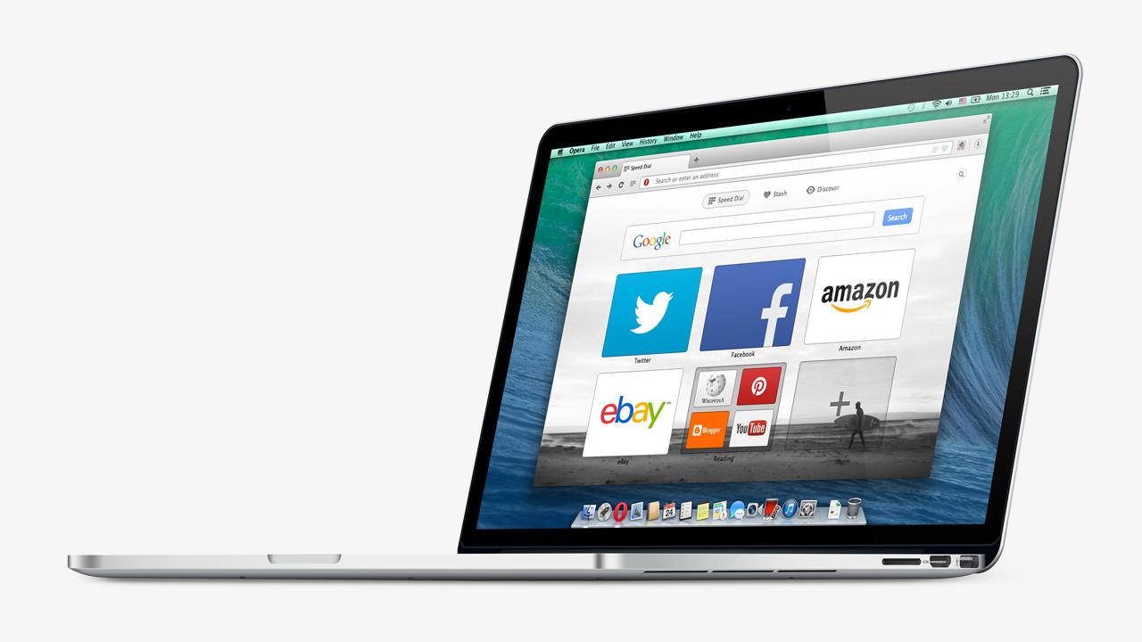 Opera 21 now uses hardware acceleration, brings back full URLs