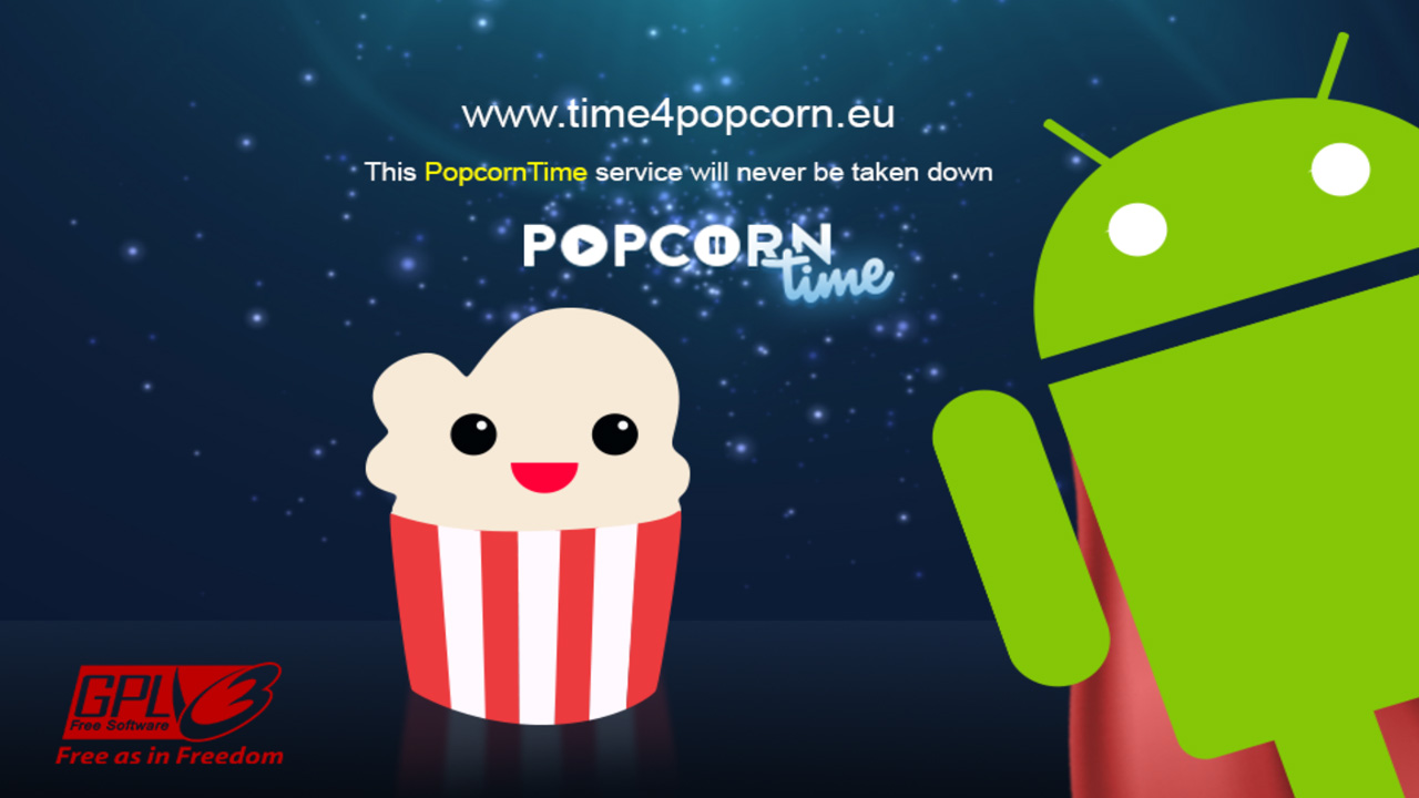 Popcorn Time for Android pulled from Google Play, now a direct download