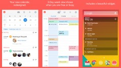 Sunrise calendar app for Android helps you get things done