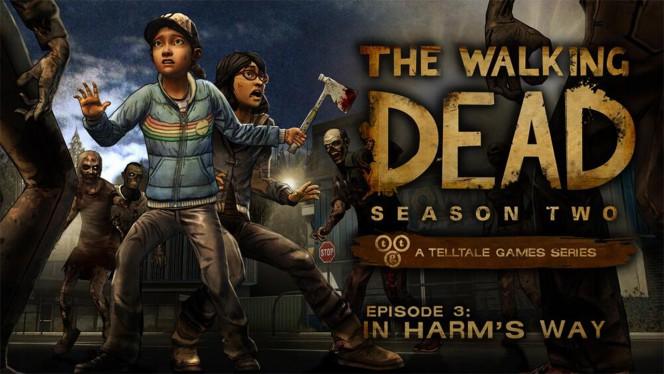The Walking Dead Season 2 Episode 3 In Harm's Way header