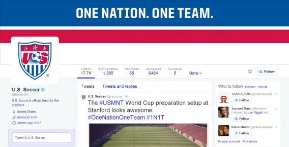 US Soccer Twitter