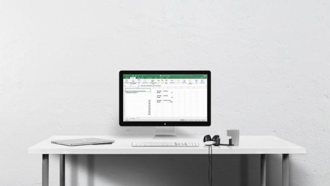 Excel Desktop – 10 Formulas