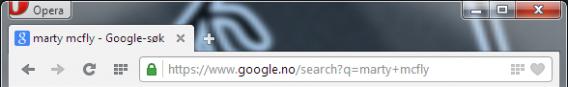 Opera 21 full URLs