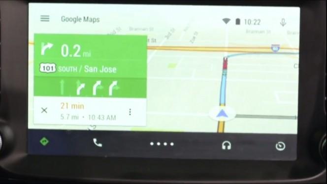 Android Auto nav