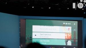 Google I/O 2014: Android Auto coming later this year