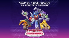 Angry Birds Transformers features Autobirds vs Deceptihogs