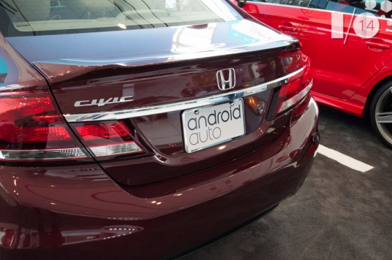 Android Auto Honda Civic