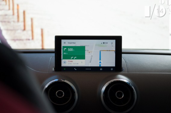 Android Auto Google Maps Navigation