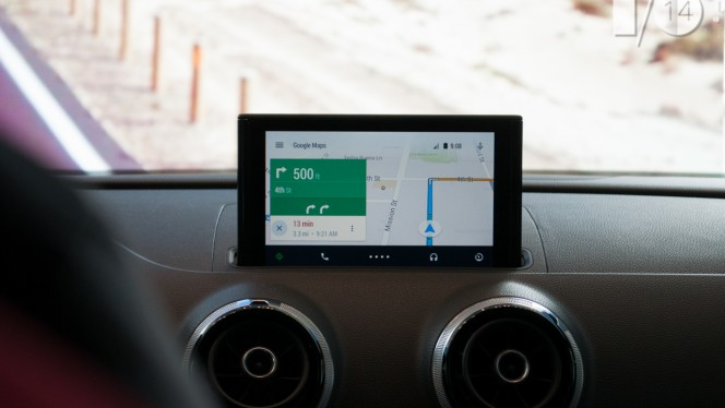 Android Auto Audi Google Maps