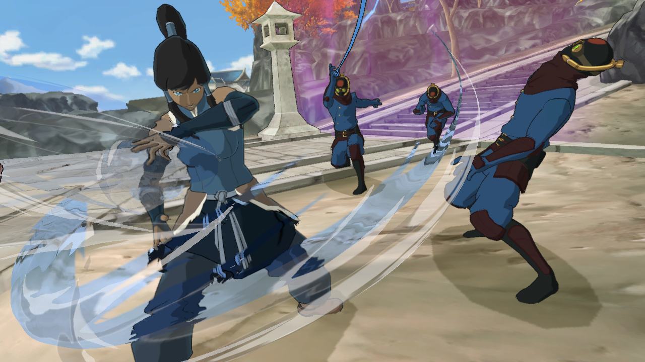 There's a Legend of Korra game and we have a hands-on preview