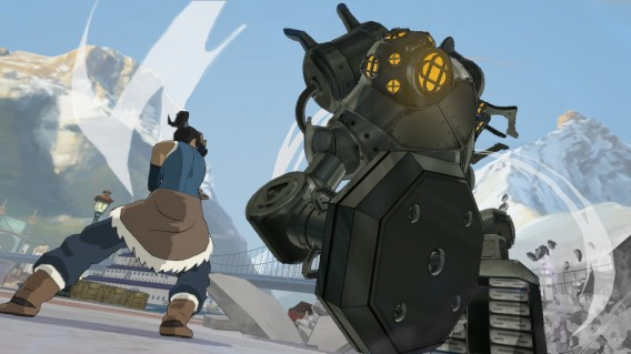 Legend of Korra mecha tank