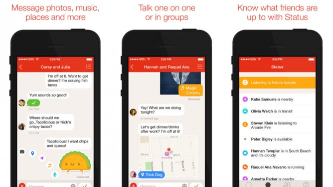 Path Talk for iPhone combined
