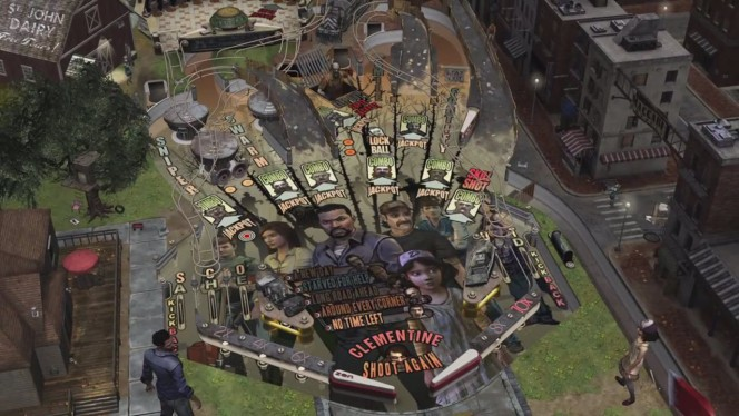 The Walking Dead Pinball header