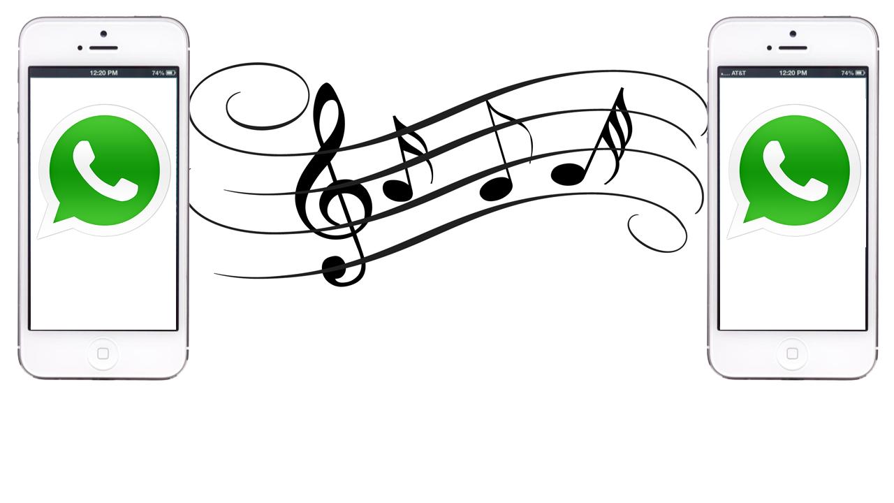 iPhone: how to send an MP3 via WhatsApp